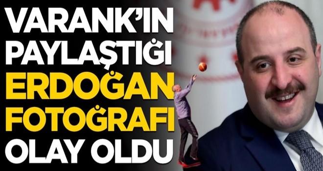 Bakan Mustafa Varank'ın Erdoğan paylaşımı olay oldu