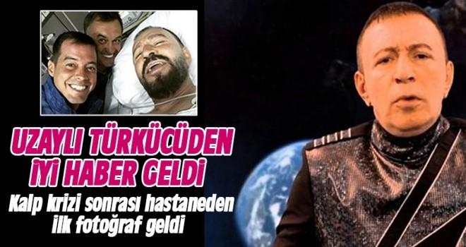 Kalp krizi geçiren Mustafa Topaloğlu'ndan iyi haber! İşte ilk fotoğraf...