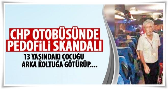 CHP otobüsünde taciz skandalı