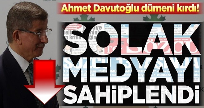 Ahmet Davutoğlu dümeni kırdı! Sözcü'ye yeşil ışık yaktı