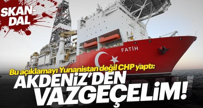 Hazımsız CHP petrol arama çalışmalarına da karşı çıktı