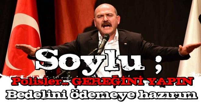 İçişleri Bakanı Süleyman Soylu: Uyuşturucu satıcıları ve mafyaya müsamahakar davranmayın