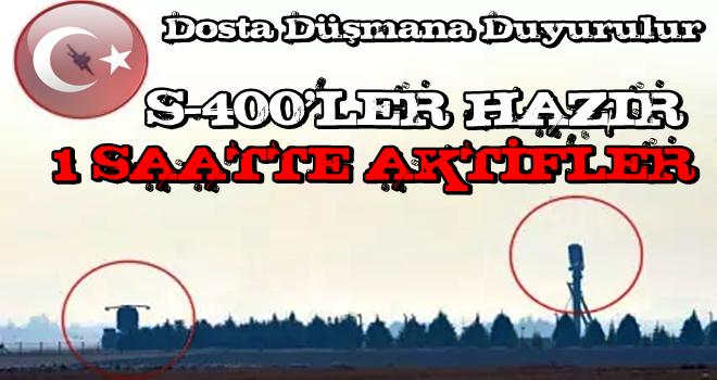 Doğu Akdeniz'de ipler Türkiye'nin elinde! Türkiye S-400'lerini 1 saatte aktif edebilir