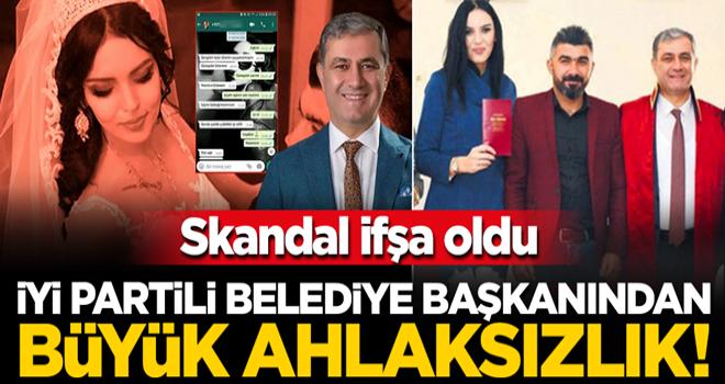 İYİ Partili Elmalı Belediye Başkanı Halil Öztürk'ün ahlaksızlığı Antalya'yı sarstı