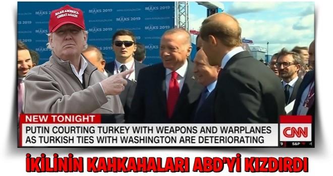 ABD medyası Erdoğan-Putin yakınlaşmasından rahatsız