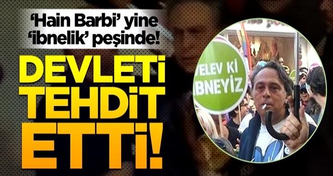 Devleti tehdit etti! Barbaros Şansal'dan Can Dündar'ın programında skandal sözler!