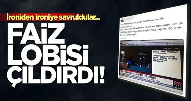 Merkez Bankasının kararı sonrası faiz lobisi çıldırdı!