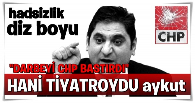 CHP'li Aykut Erdoğdu'dan beyin yakan açıklama