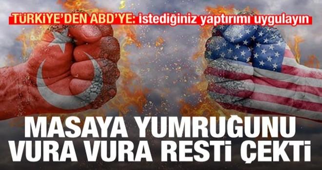 Türkiye'den ABD'ye S-400 resti: İstediğiniz yaptırımı uygulayın, aldık