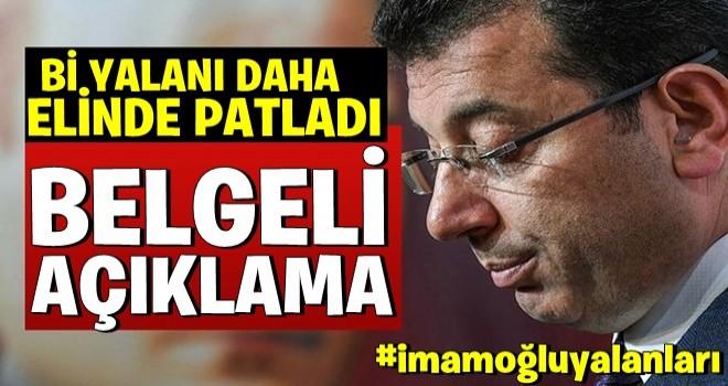 Ekrem İ.oğlu'nu zora sokacak Kanal İstanbul belgesi!