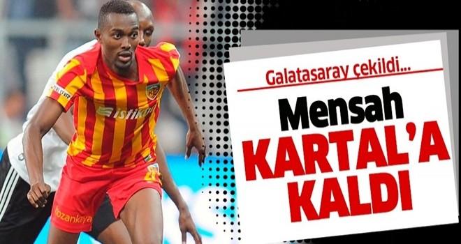 Beşiktaş Mensah tansferini bitirmek üzere!