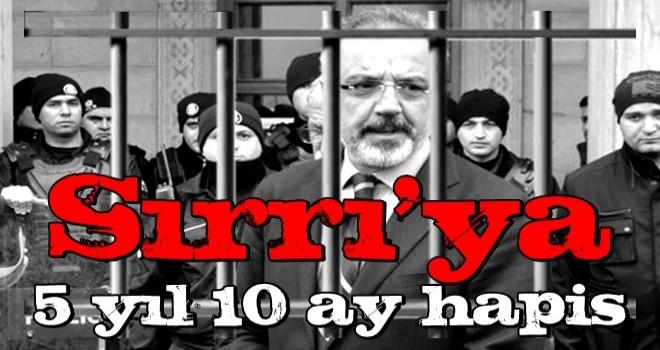 Sırrı Sakık terör örgütüne yardım ve propaganda suçlarından hapis cezasına çarptırıldı.