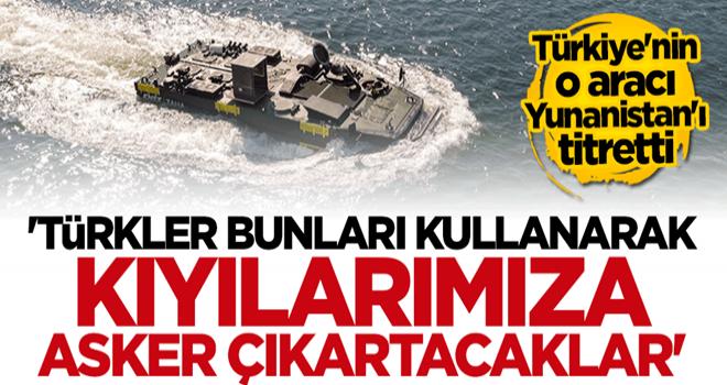 """Yunan medyasında Türkiye korkusu! """"Bu araçları kullanarak kıyılarımıza asker çıkartacaklar"""""""