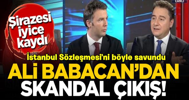 Babacan'dan tepki çeken çıkış! İstanbul Sözleşmesi'ni böyle savundu