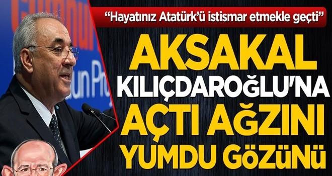 DSP Genel Başkanı Aksakal, Kılıçdaroğlu'na açtı ağzını yumdu gözünü