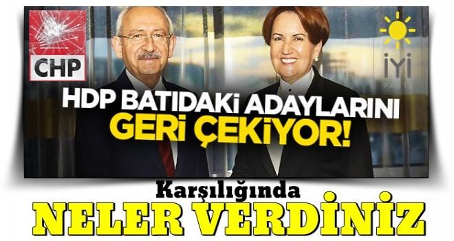 HDP, 'Zillet ittifakı' lehine adaylarını geri çekiyor