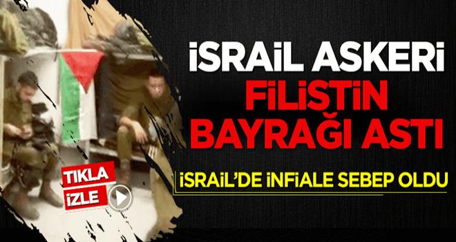Filistin bayrağı asan İsrail askeri ordudan atıldı