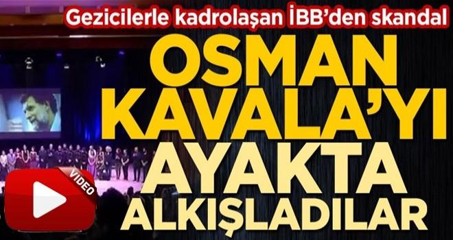 CHP'li İBB'nin skandalları bitmiyor! Konser salonunda Gezi kalkışmasının finansörü Osman Kavala propagandası... .