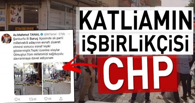 CHP'li Tanal'dan skandal Suruç paylaşımı