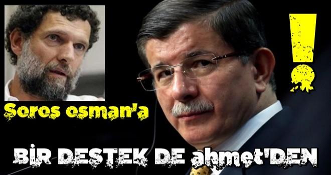 Ahmet Davutoğlu'ndan yeni Osman Kavala açıklaması