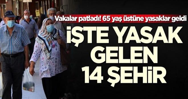 65 yaş üstü sokağa çıkma yasağı hakkında SON DAKİKA gelişmesi! İki ilde daha 65 yaş üstü sokağa çıkma yasağı..