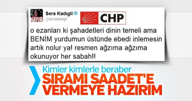 CHP'li Sera Kadıgil SP ile ittifaka yeşil ışık yaktı
