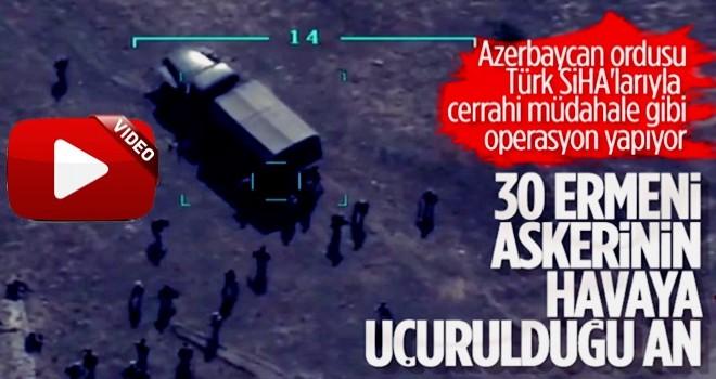 Azerbaycan ordusu, Ermenilerin destek birliğini vurdu