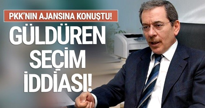 Hiçbir iddiası tutmayan Abdüllatif Şener yine salladı!