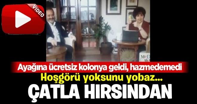 Ayşenur Arslan'dan akıllara zarar 'kolonya' yorumu