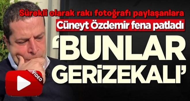 Cüneyt Özdemir fena patladı: Bunlar gerizekalı