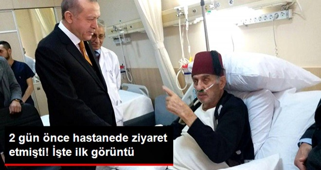 Erdoğan'ın, Kadir Mısıroğlu'na Hastanede Gerçekleştirdiği Ziyaretinin Fotoğrafı Ortaya Çıktı