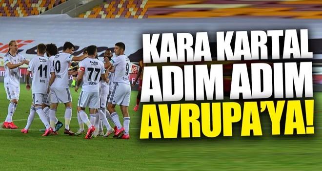 Beşiktaş adım adım Avrupa'ya!