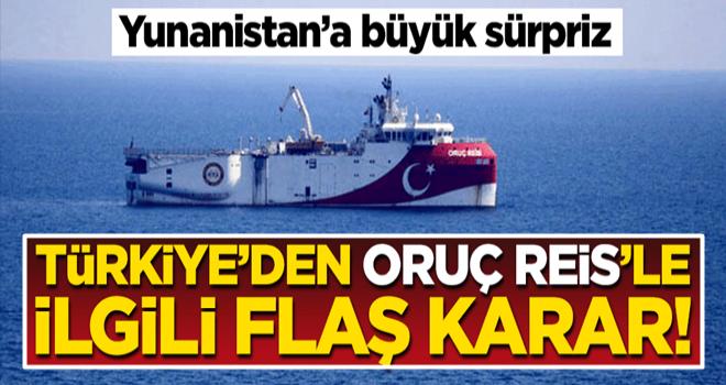 Türkiye'den Yunanistan'a büyük gözdağı! Oruç Reis'i karşılarında bulacaklar