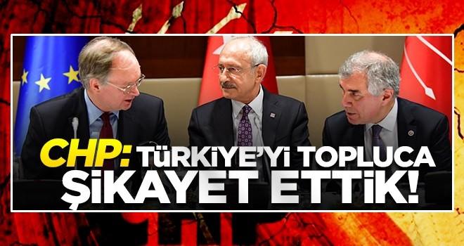 CHP, Türkiye'yi yine Avrupa'ya şikayet etti!