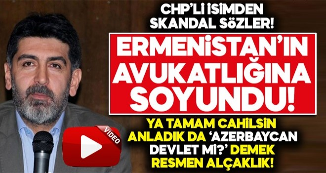 CHP'li Levent Gültekin'den skandal ifadeler!