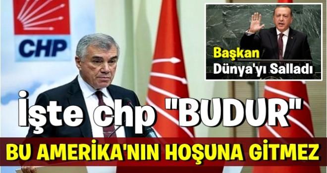 CHP'den Erdoğan'a tepki: Bu, Amerika'nın hoşuna gitmez!