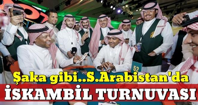 Suudi Arabistan'da 2. İskambil turnuvası düzenlendi