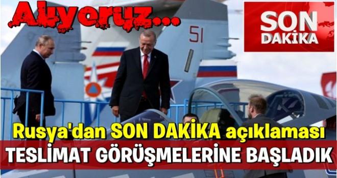 Putin, Türkiye'ye sinyali dün vermişti! Su-35, Su-57 ve TF-X gelişmesi