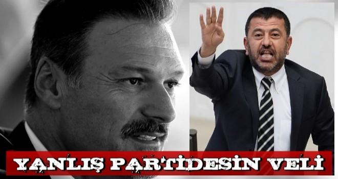 Alpay Özalan'dan Veli Ağbaba yorumu: Yanlış partiden milletvekili olmuş