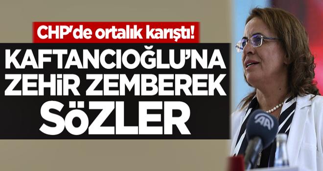 CHP karıştı! Canan Kaftancıoğlu'na zehir zemberek sözler