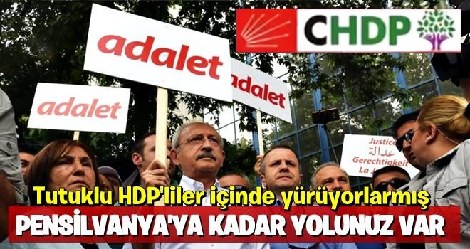CHP Genel Başkan Yardımcısı Aksünger: 'Tutuklu HDP'liler için de yürüyoruz'