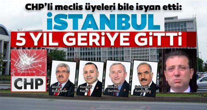 İstanbul 5 yıl geriye gitti