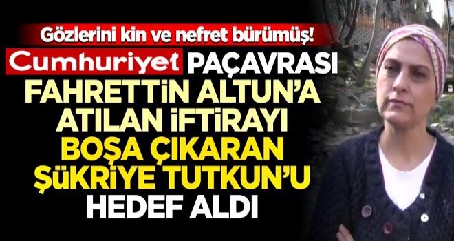 Gözlerini nefret ve kin bürümüş! Cumhuriyet paçavrası Fahrettin Altun'dan sonra, yalanlarını ifşa eden ismi hedef gösterdi