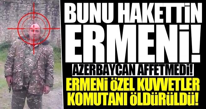 Ermeni Komutan etkisiz!
