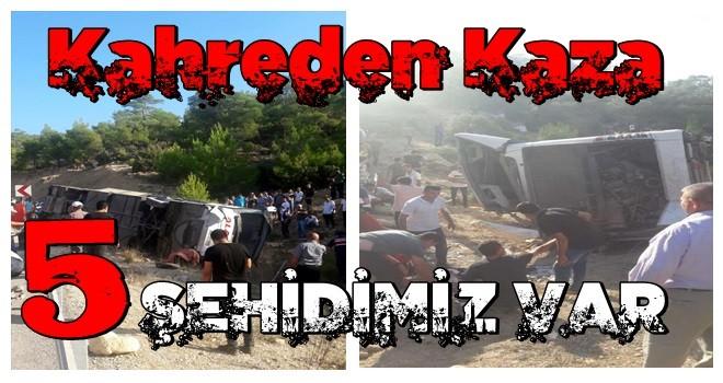 Son dakika: Mersin'den kahreden haber: 5 askerimiz şehit oldu!