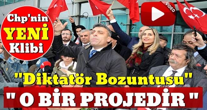 Öztürk Yılmaz: CHP'nin başındaki zat bir projedir .