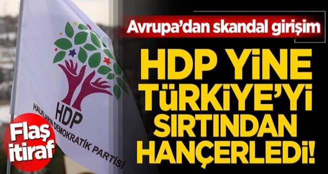 Sevr'i hortlatmak istiyorlar! Avrupa'dan 'Kürdistan' itirafı… HDP Türkiye'yi yine arkadan hançerledi!