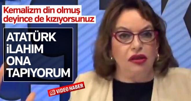 Mine Kırıkkanat: Atatürk'e tapıyorum