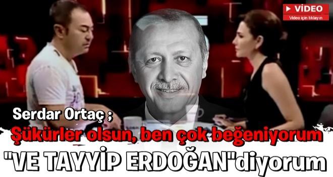 Serdar Ortaç'tan Cumhurbaşkanı Erdoğan ile ilgili açıklama