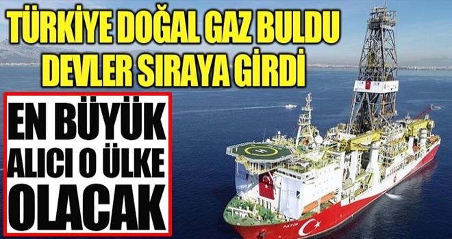 Türkiye doğal gaz buldu devler sıraya girdi!